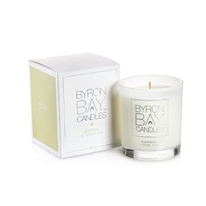 Bamboo White Lily Pure Soy Candle Byron Bay Candles