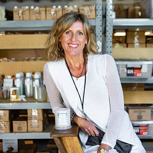 Annemarie Dove owner Byron Bay Candles