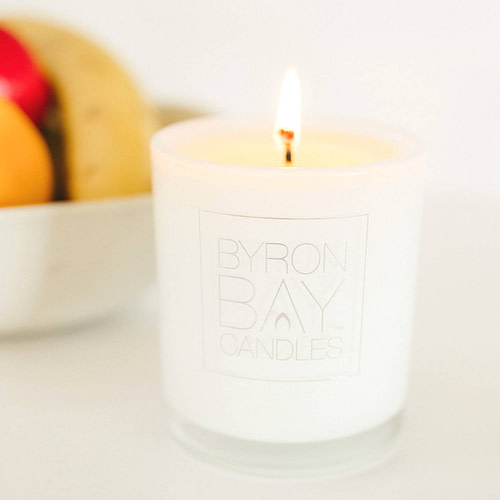Byron_Bay_Candles_lit_candle_fruit_bowl